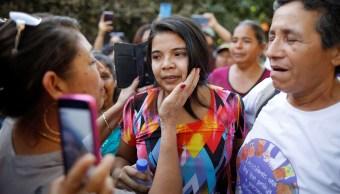 Liberan a salvadoreña Imelda Cortez presa por abortar