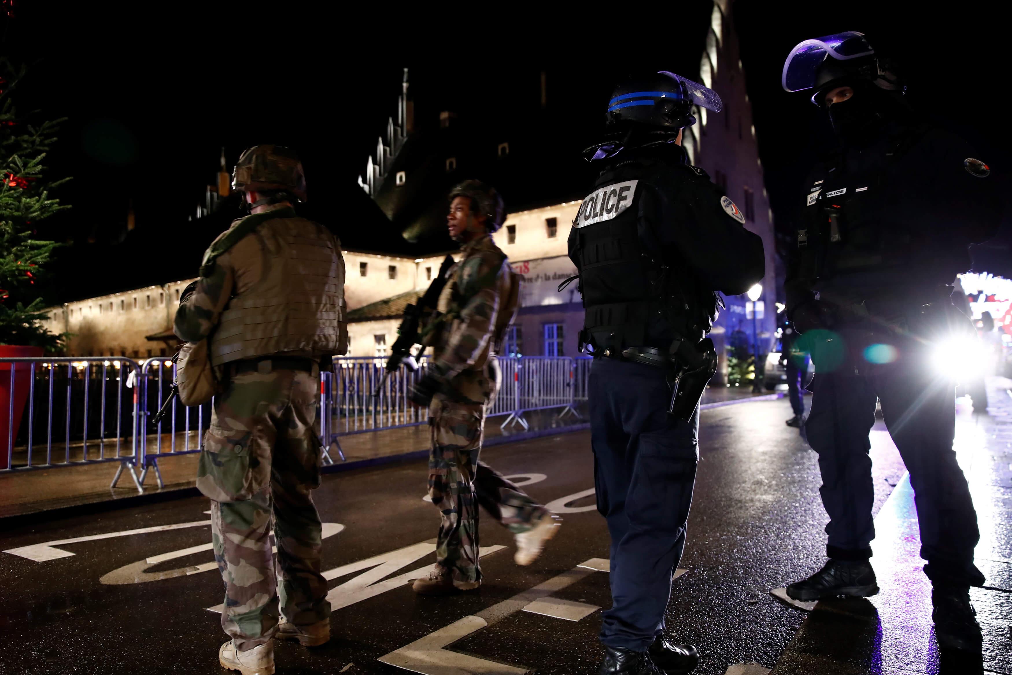Tiroteo en Estrasburgo, Francia, deja cuatro muertos