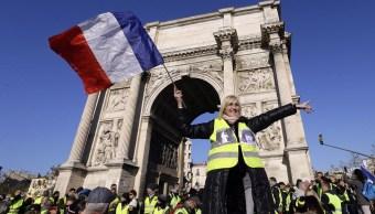 Sábado de protestas de 'chalecos amarillos' en Francia