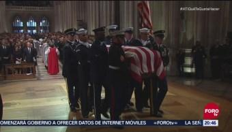 Funeral de George H. W. Bush reúne a clase política