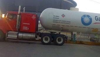 Puebla: Decomisan 2 pipas con 90 mil litros de gas LP