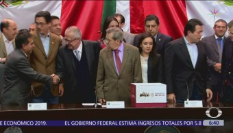 Gobierno federal entrega paquete económico 2019 a Cámara de Diputados