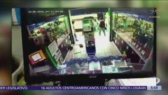 Golpean y detienen a ladrón en centro histórico de Oaxaca
