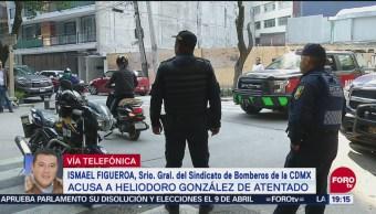 Grupo Violento Exbomberos Responsables Ataque Ismael Figueroa
