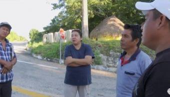 Habitantes Conhuas, Campeche piden ser consultados Tren Maya