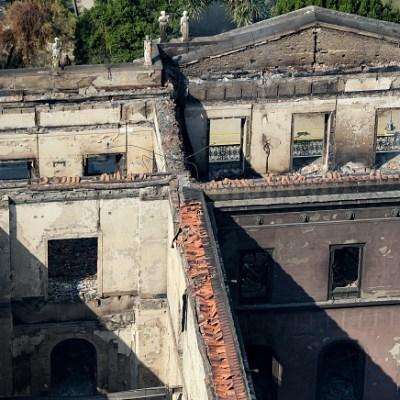 Google permite visitar en línea colección de museo incendiado en Brasil