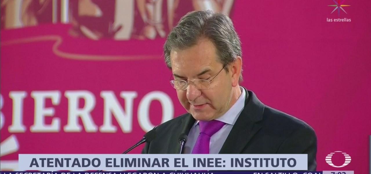 INEE responde al anuncio de AMLO sobre reforma educativa