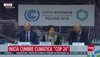 Inician conversaciones por cambio climático en Polonia