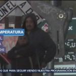 Intenso frío afecta a habitantes de Chihuahua