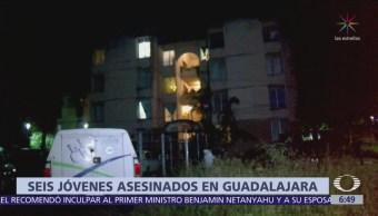 Investigan multihomicidio en Guadalajara, asesinan a 6 personas
