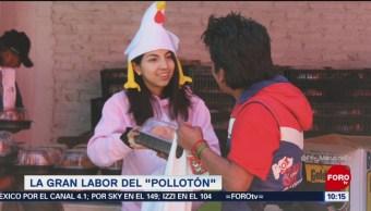 """La gran labor del """"Pollotón"""""""