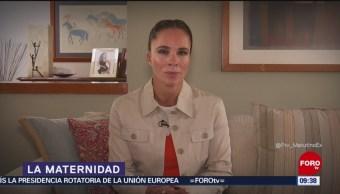 La especialista Alejandra Diener habla en Matutino Express sobre la maternidad