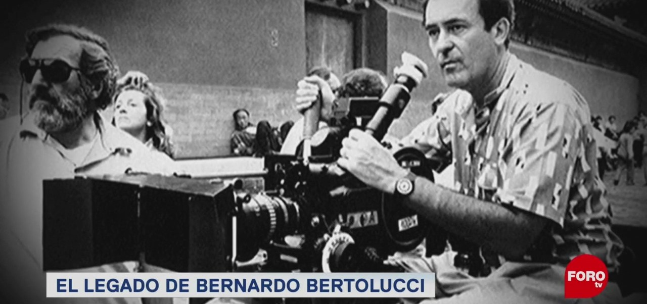 Muerte Bernardo Bertolucci Legado Cinematografía Mundial