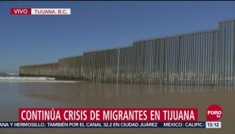 La valla fronteriza entre Tijuana y San Diego