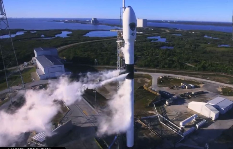 SpaceX pone en órbita un satélite de la Fuerza Aérea de EU
