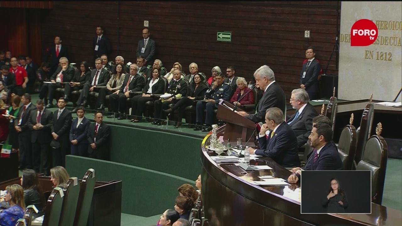 AMLO promete acabar con la corrupción y la impunidad en México