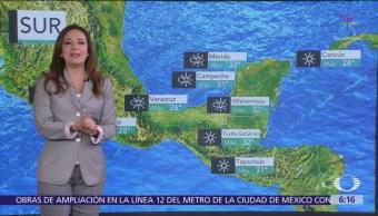 Nuevo frente frío causará bajas temperaturas en México