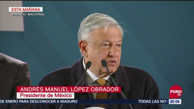 López Obrador Presenta Plan Contra Robo Hidrocarburos