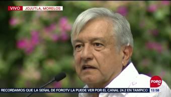 López Obrador presenta Programa de Reconstrucción en Morelos