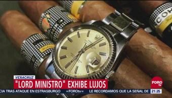 #Lordministro Exhiben Redes Lujos Magistrado Veracruz
