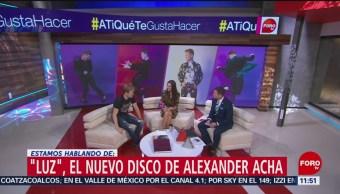 'Luz', nuevo disco de Alexander Acha