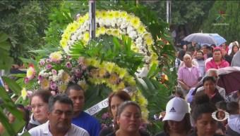 Realizan Sepelios Fallecidos Explosión Tequisquiapan Querátaro