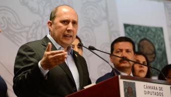 Manzanilla descarta posibilidad de ser gobernador Puebla