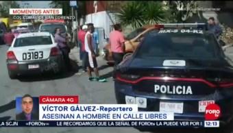 Matan a hombre en Lomas de San Lorenzo, Iztapalapa