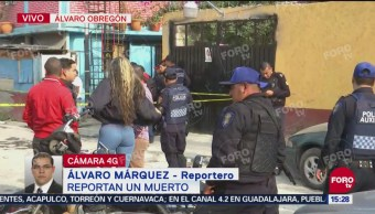 Matan a un hombre en la alcaldía Álvaro Obregón