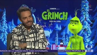 Me dejaron meterle mano al libreto de 'El Grinch': Eugenio Derbez