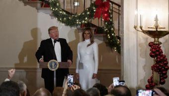 Melania regresa a Washington a pasar Navidad y Año Nuevo con Trump