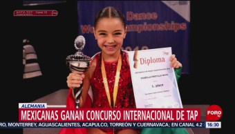 Mexicanas ganan concurso internacional de tap en Alemania