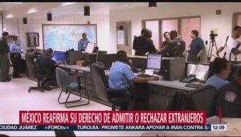 México recibirá a algunos indocumentados que enfrenten proceso migratorio en EU