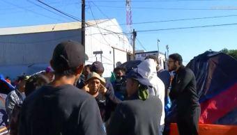 Migrantes centroamericanos acusados robo a Unidad Deportiva