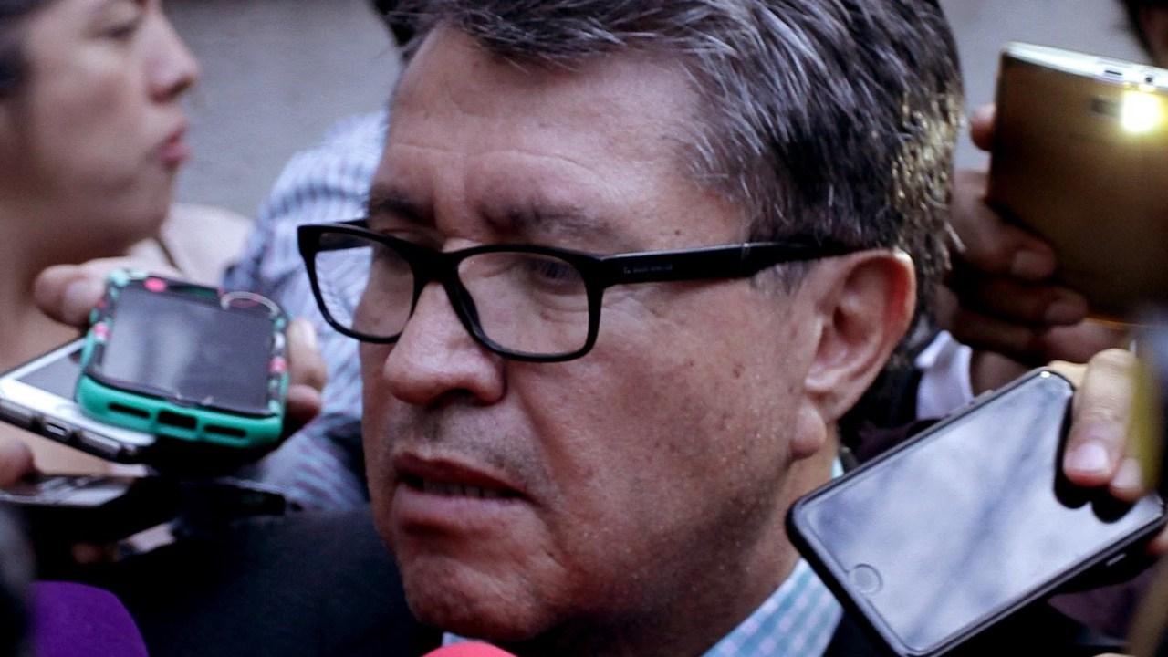 Ricardo Monreal, coordinador de la bancada de Morena. (Notimex, archivo)