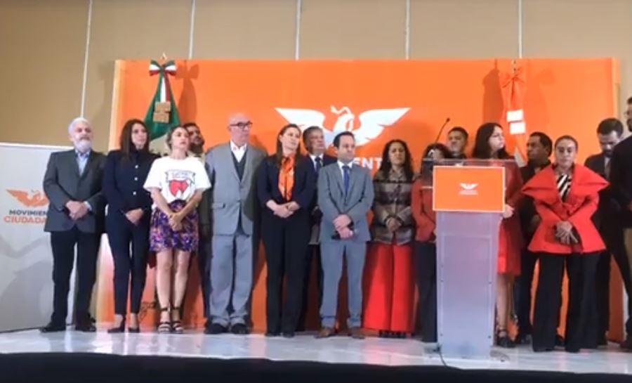 Movimiento Ciudadano respalda triunfo de Martha Erika Alonso