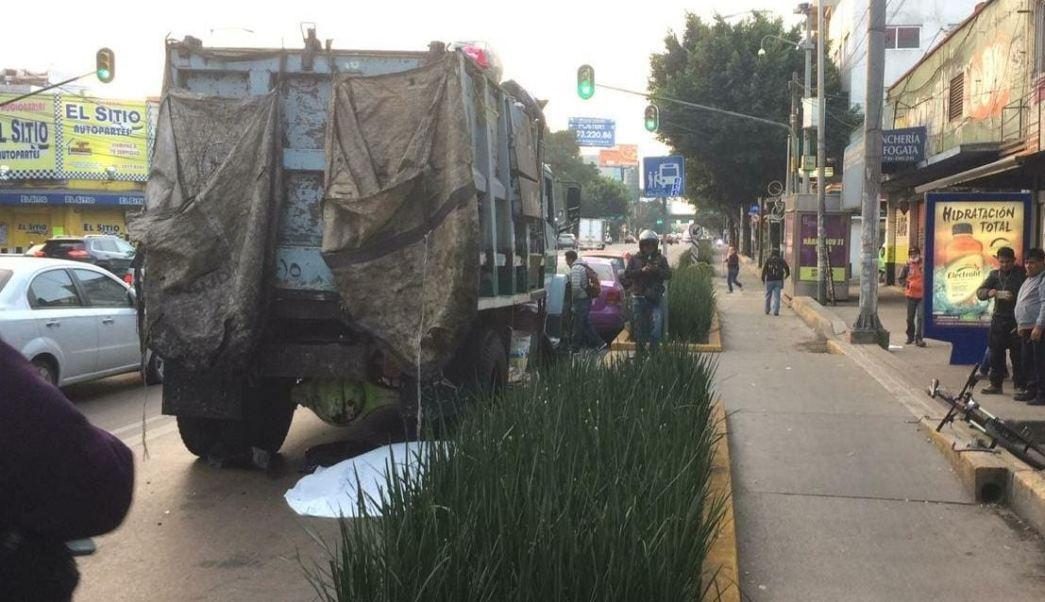 Muere ciclista tras ser atropellado en avenida Revolución
