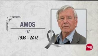 Muere el escritor israelí Amos Oz a los 79 años