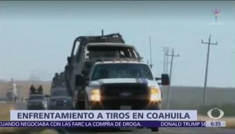 Muere marino tras enfrentamiento con delincuentes en Coahuila