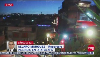 Mueren seis niños tras incendio en un predio de Iztapalapa
