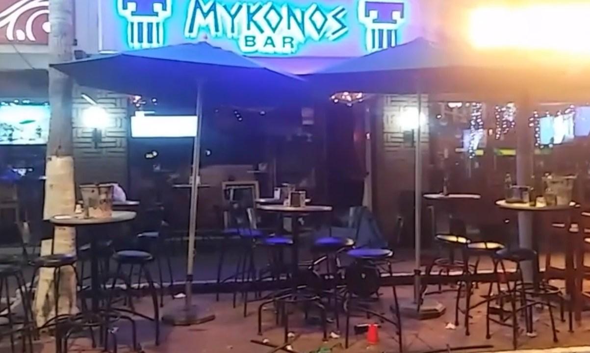 Ataque a dos bares en Acapulco dejan al menos 2 muertos