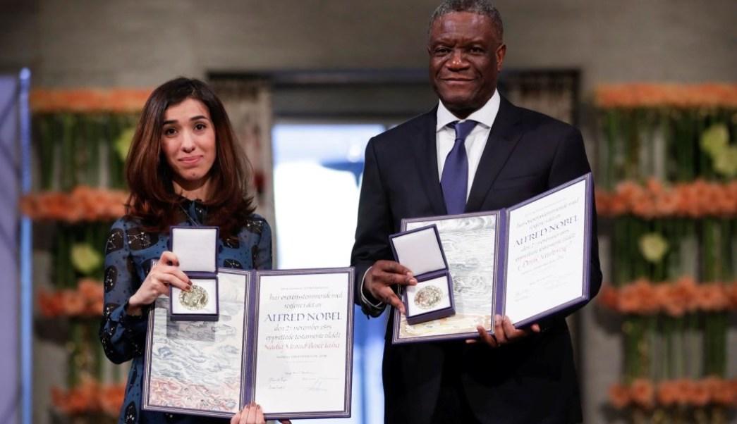 Mukwege y Murad reciben Nobel de la Paz por su lucha contra la violencia sexual