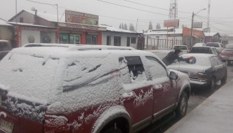 Clima Chihuahua; frente frío 16 deja temperaturas bajo cero