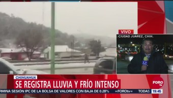 Nieva En Tres Municipios De Chihuahua