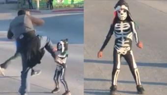 Niño 'Parkita' viral en redes, buscado por la Triple A