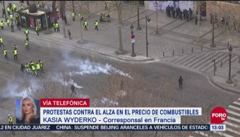 Termina Quinto Sábado De Protestas En Paris