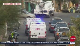 PGJCDMX Continúa Investigación Incendio Iztapalapa