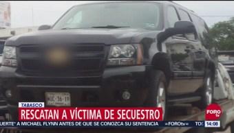 Policías de Tabasco frustran secuestro