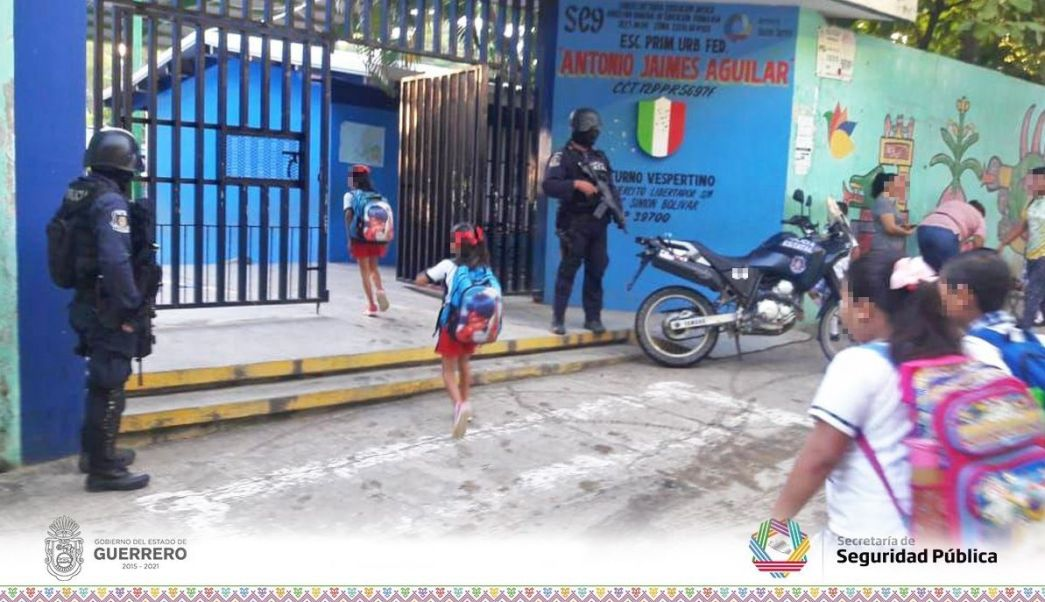 Violencia Acapulco adelantan vacaciones escuelas extorsiones