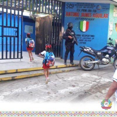 Adelantan vacaciones en escuelas de Acapulco por extorsiones